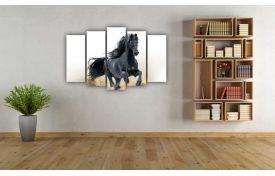 Чёрный конь