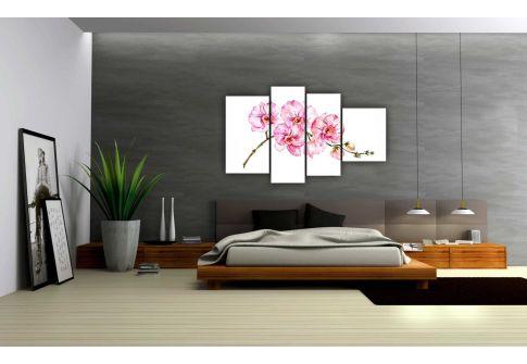 Акварельная орхидея