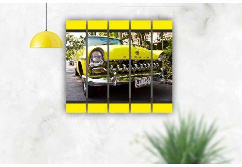 Желтый автомобиль 2