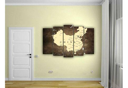 Карта Китай