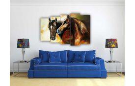 Лошади, арт